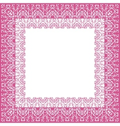 Tablecloth border pattern vector