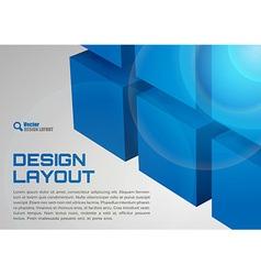 cube design vector image