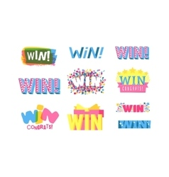 Win text vector