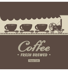 coffee steam vector image