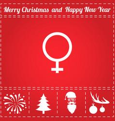 female icon vector image