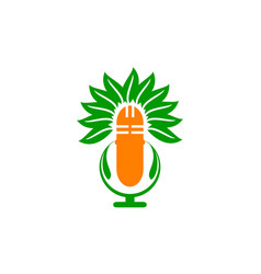 Medical herbal voice vector