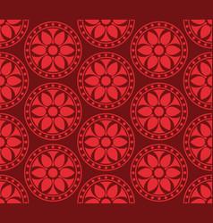 seamless korean pattern vector image vector image