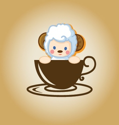 Sheepcoffee vector