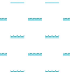Water pattern flat vector