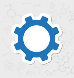 Cogwheel icon vector