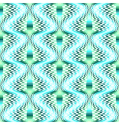 Design seamless colorful movement checked pattern vector