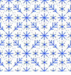 Winter pattern vector