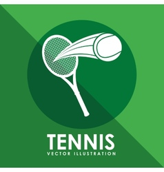 Tennis game design vector