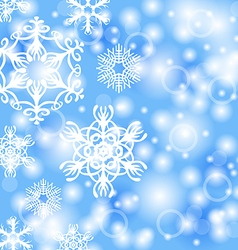 snow back vector image