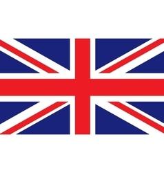 United Kingdom flag image vector image