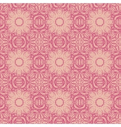 An abstract vintage pattern seamless background vector