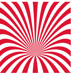 curved ray burst background - from curved stripes vector image vector image