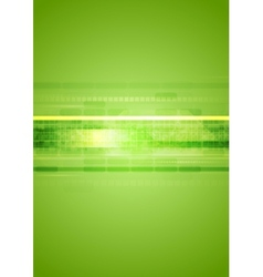 Hi-tech green abstract background vector