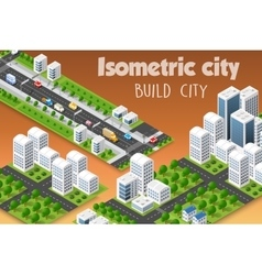 Isometric set of the modern vector
