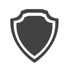 shield protection insignia quality premium vector image