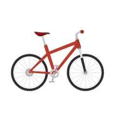 Bicycle sport bike vector