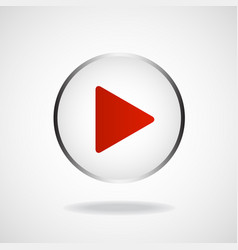 Play icon multimedia player multimedia play vector