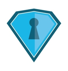 shield protection security technology vector image