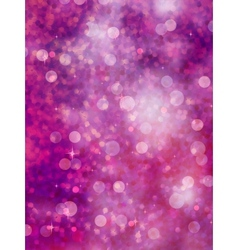 Defocused purple lights glitter EPS 10 vector image