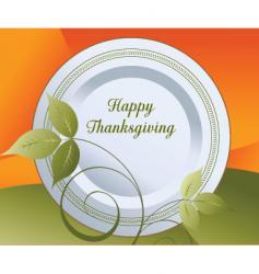 thanksgiving concept vector image