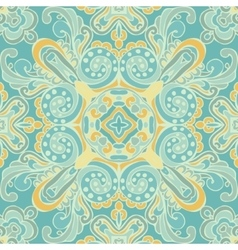 Cute blue seamless abstract tiled pattern vector