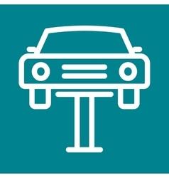 Car lifter vector