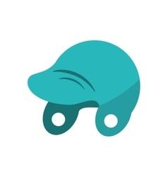 Helmet of baseball sport design vector