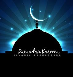 Masjid ramadan backgorund vector