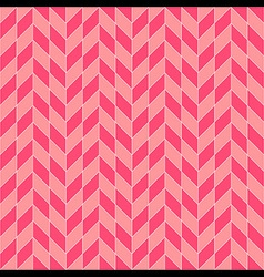 Square Rhombohedron Seamless Pattern Pink vector image