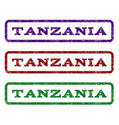 Tanzania watermark stamp vector