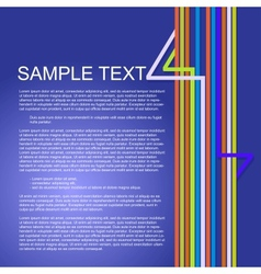 Colorful background for business presentations vector