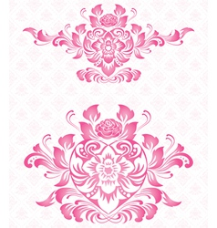 Ornament for valentine vector