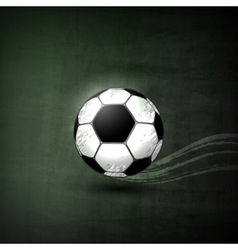 Soccer ball graphic concept vector
