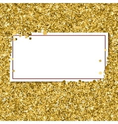 Abstract modern gold banner templates vector image vector image