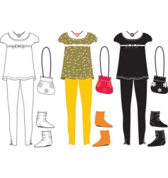 clothes special vector image vector image