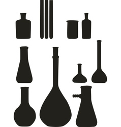 Flask tool set 01 vector