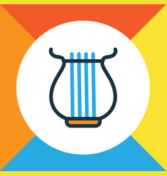 strings colorful outline symbol premium quality vector image