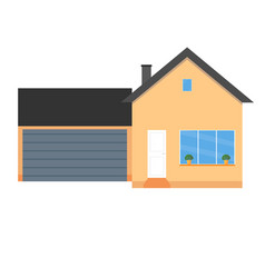 Colorful house concept house flat icon design vector