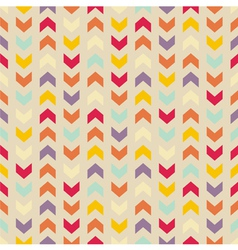 Aztec chevron seamless colorful pattern vector
