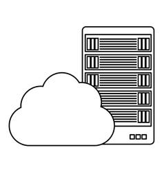Figure data hosting optimization application vector