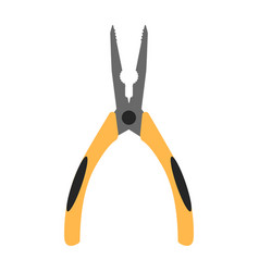 pliers flat icon vector image