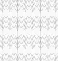 Slim gray circles forming ridges vector