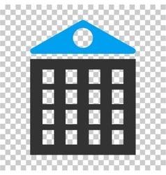 Multi-storey house icon vector