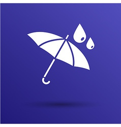 Waterproof icon water proof symbol umbrella vector