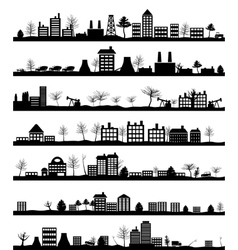 City landscapes vector