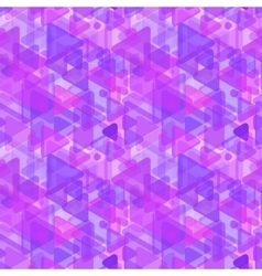 Abstract purple shapes modern seamless pattern vector image