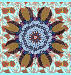 Orient symmetry lace meditation symbol east vector