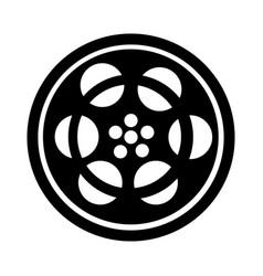 tape reel film icon vector image