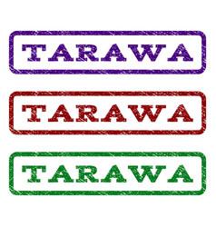 Tarawa watermark stamp vector